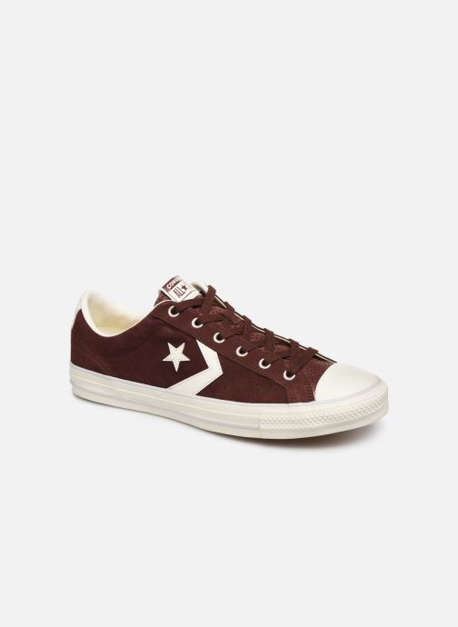 Trainers Converse Star Player Suede Ox Brown detailed view/ Pair view