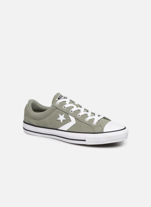 Baskets Converse Star Player Suede Ox Vert vue détail/paire