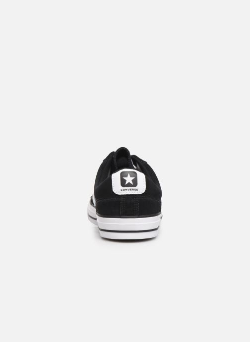 Trainers Converse Star Player Suede Ox Black view from the right