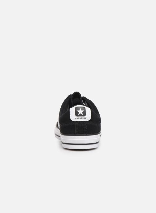 Sneaker Converse Star Player Suede Ox schwarz ansicht von rechts