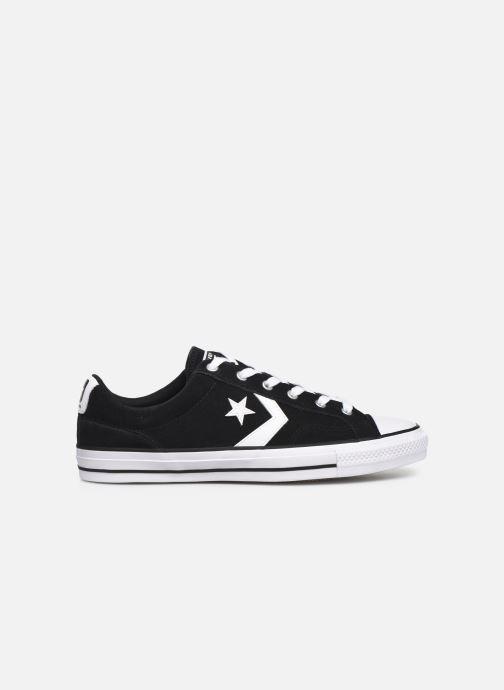 Sneaker Converse Star Player Suede Ox schwarz ansicht von hinten