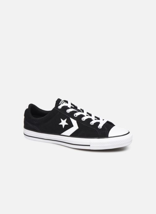 Trainers Converse Star Player Suede Ox Black detailed view/ Pair view