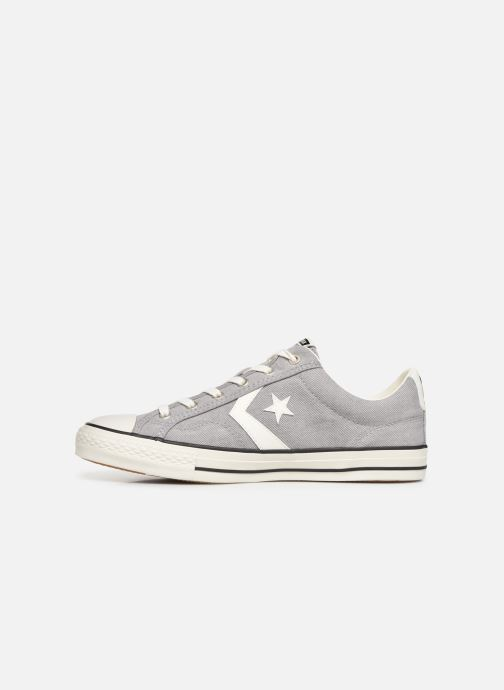 Trainers Converse Star Player Vitnage Canvas Ox Grey front view