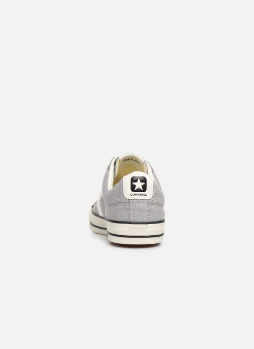 Sneakers Converse Star Player Vitnage Canvas Ox Grigio immagine destra
