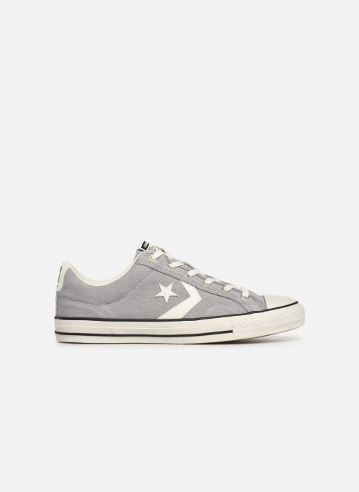 Trainers Converse Star Player Vitnage Canvas Ox Grey back view