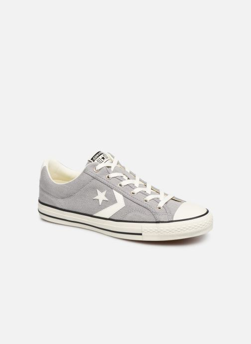 Trainers Converse Star Player Vitnage Canvas Ox Grey detailed view/ Pair view