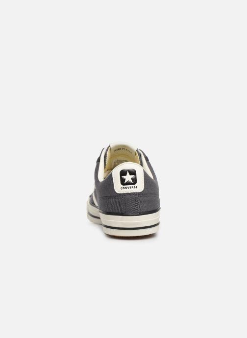 Sneakers Converse Star Player Vintage Canvas Ox Grijs rechts