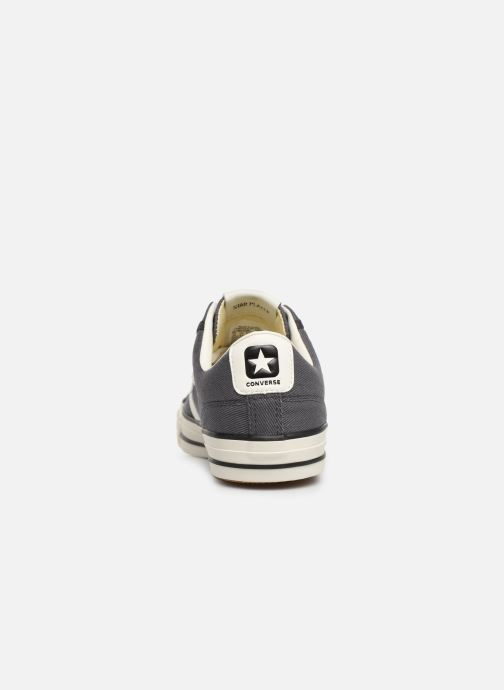 Baskets Converse Star Player Vintage Canvas Ox Gris vue droite