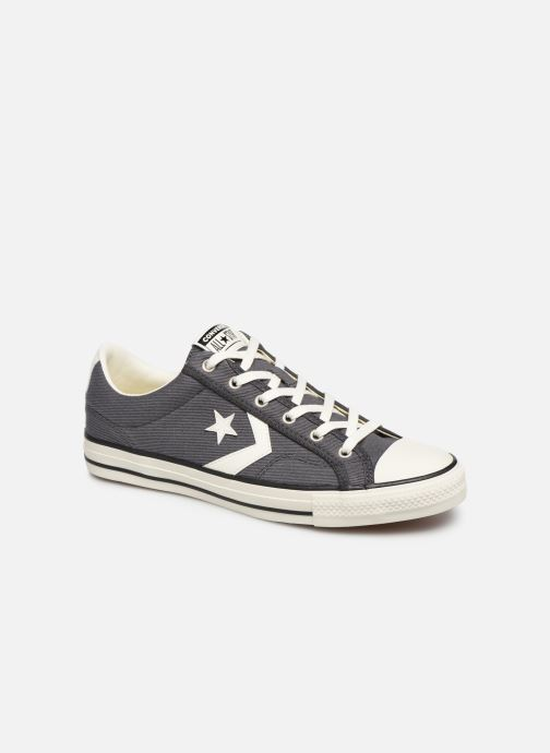 Baskets Converse Star Player Vintage Canvas Ox Gris vue détail/paire