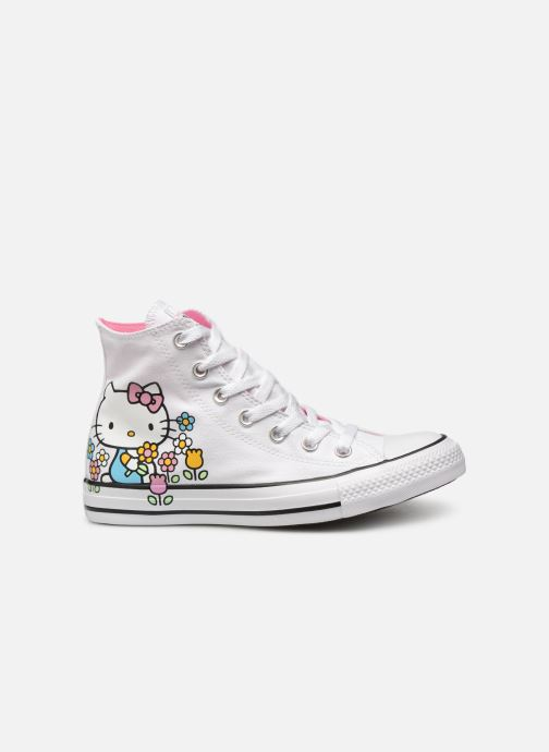 Deportivas Converse Chuck Taylor All Star Hello Kitty  Hi Blanco vistra trasera