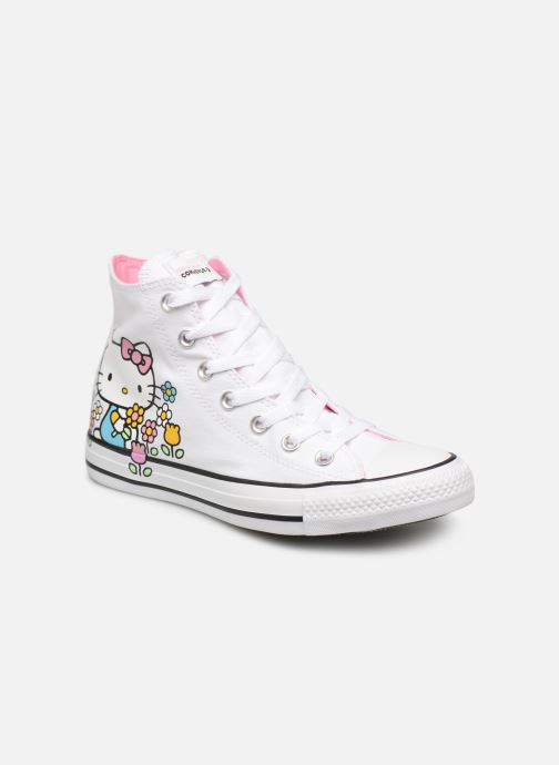 Deportivas Converse Chuck Taylor All Star Hello Kitty  Hi Blanco vista de detalle / par