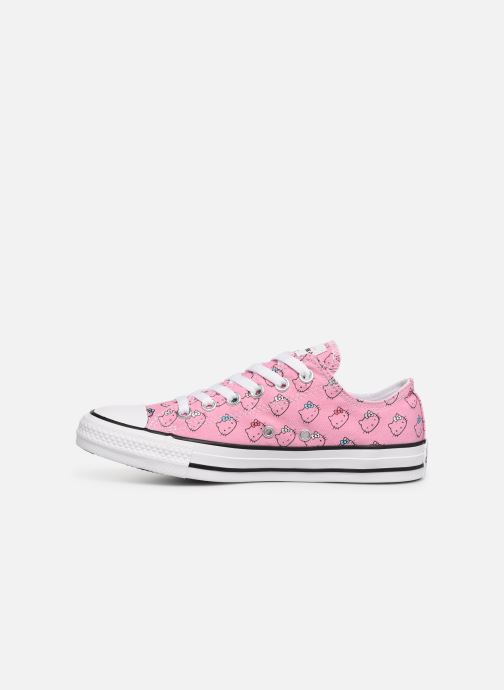 Sneakers Converse Chuck Taylor All Star Hello Kitty  Ox Roze voorkant