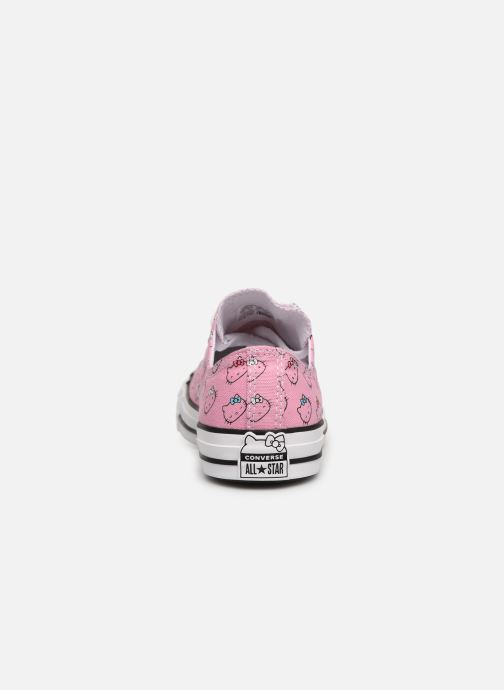 Baskets Converse Chuck Taylor All Star Hello Kitty  Ox Rose vue droite