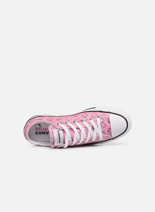Trainers Converse Chuck Taylor All Star Hello Kitty  Ox Pink view from the left