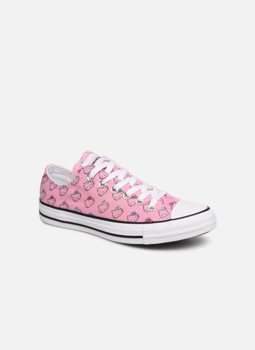 Baskets Converse Chuck Taylor All Star Hello Kitty  Ox Rose vue détail/paire