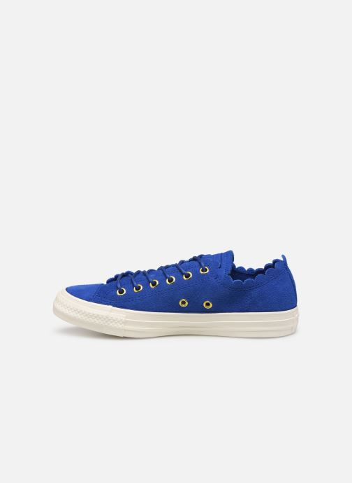 Trainers Converse Chuck taylor all star Washed Blue front view
