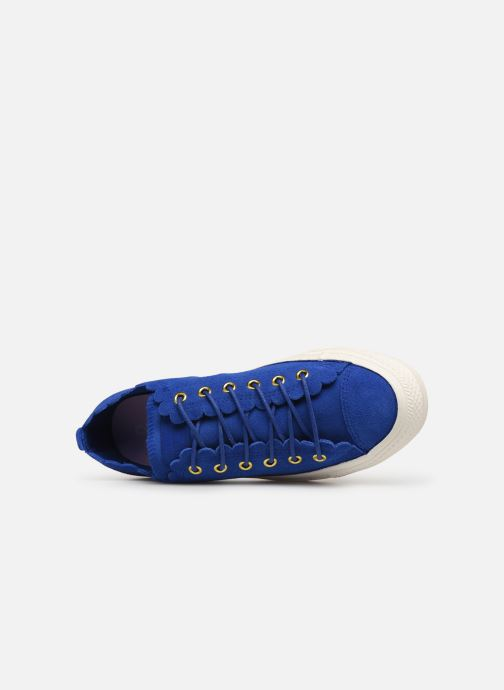 Trainers Converse Chuck taylor all star Washed Blue view from the left