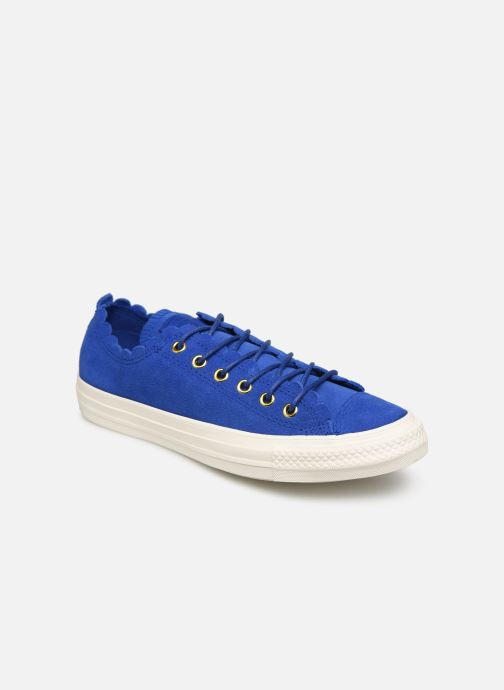 Trainers Converse Chuck taylor all star Washed Blue detailed view/ Pair view
