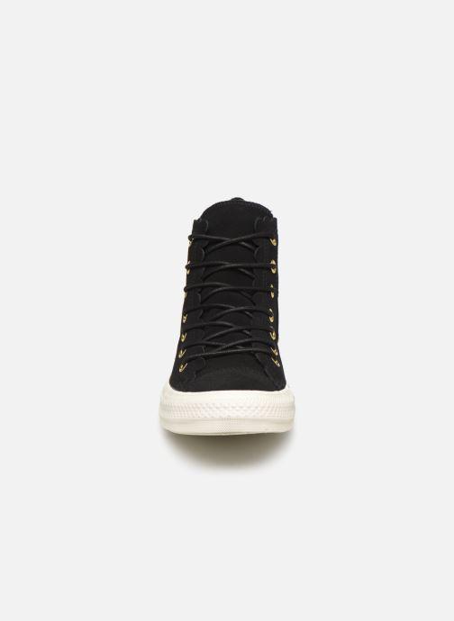 Sneakers Converse Chuck Taylor All Star Frilly Thrills Hi Zwart model