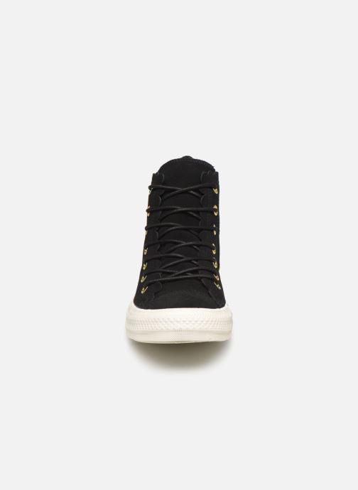 Trainers Converse Chuck Taylor All Star Frilly Thrills Hi Black model view