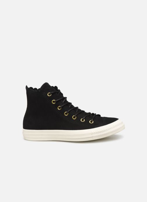 Sneakers Converse Chuck Taylor All Star Frilly Thrills Hi Zwart achterkant