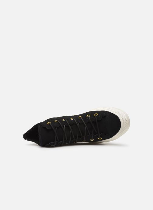 Sneakers Converse Chuck Taylor All Star Frilly Thrills Hi Zwart links