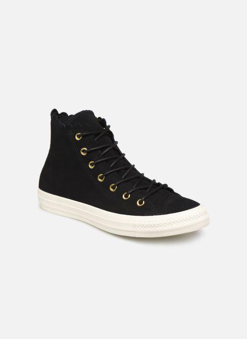 Sneakers Converse Chuck Taylor All Star Frilly Thrills Hi Zwart detail