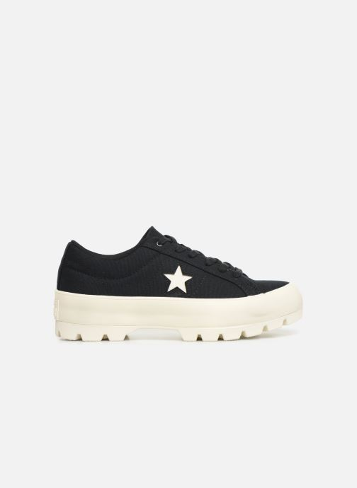 Deportivas Converse One Star Lugged Court Stopper Ox Negro vistra trasera