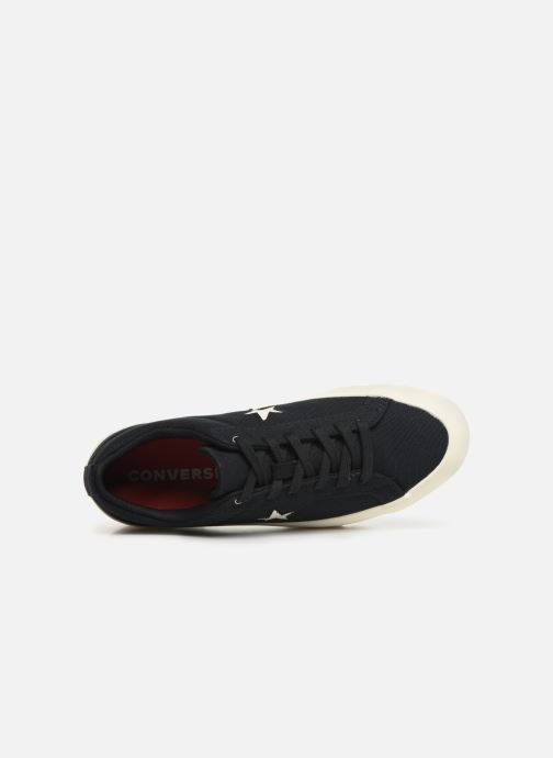 Trainers Converse One Star Lugged Court Stopper Ox Black view from the left