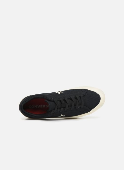 Deportivas Converse One Star Lugged Court Stopper Ox Negro vista lateral izquierda