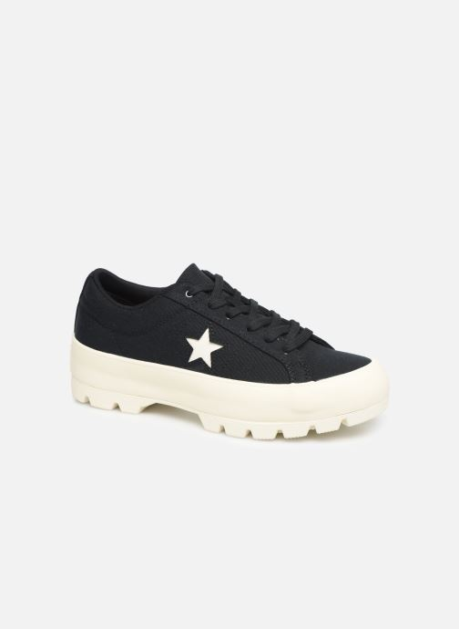 Trainers Converse One Star Lugged Court Stopper Ox Black detailed view/ Pair view