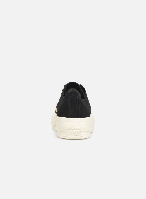Trainers Converse Chuck Taylor All Star Lift Frilly Thrills Ox Black view from the right