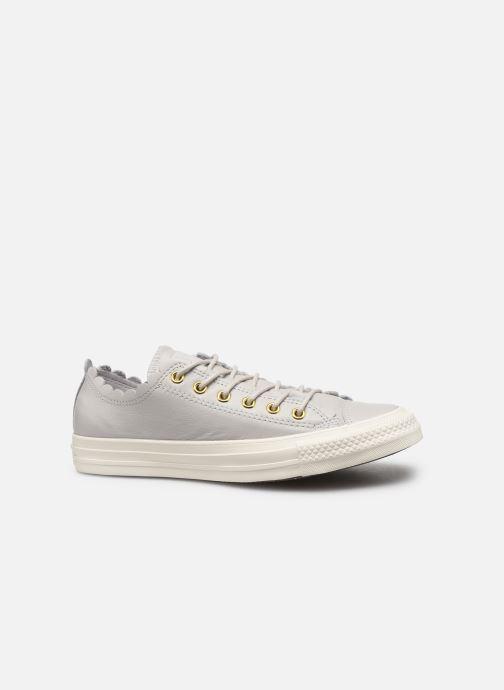 Sneaker Converse Chuck Taylor All Star Frilly Thrills LTH Ox grau ansicht von hinten