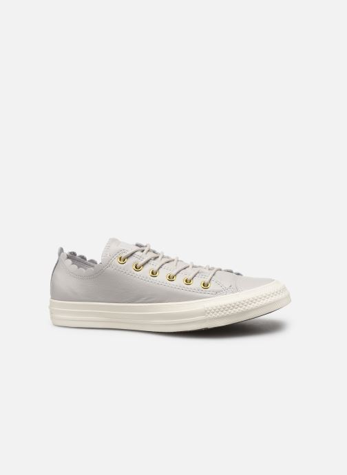 Trainers Converse Chuck Taylor All Star Frilly Thrills LTH Ox Grey back view