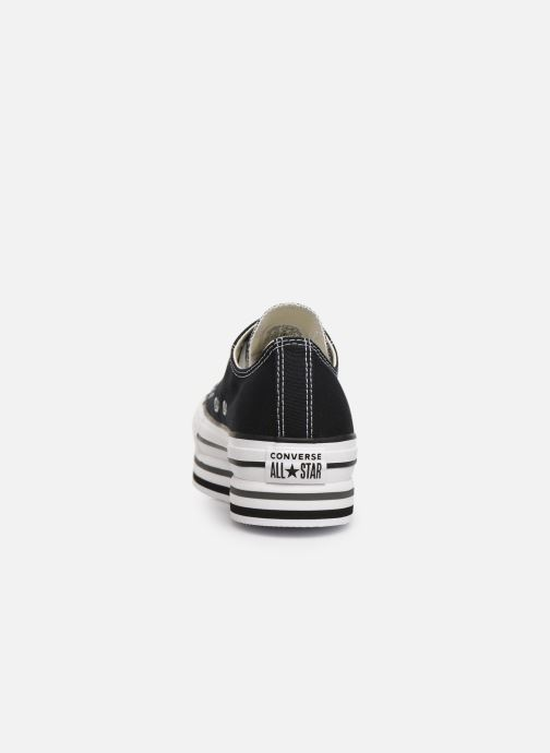 Trainers Converse Chuck Taylor All Star Platform Layer EVA Layers Ox Black view from the right