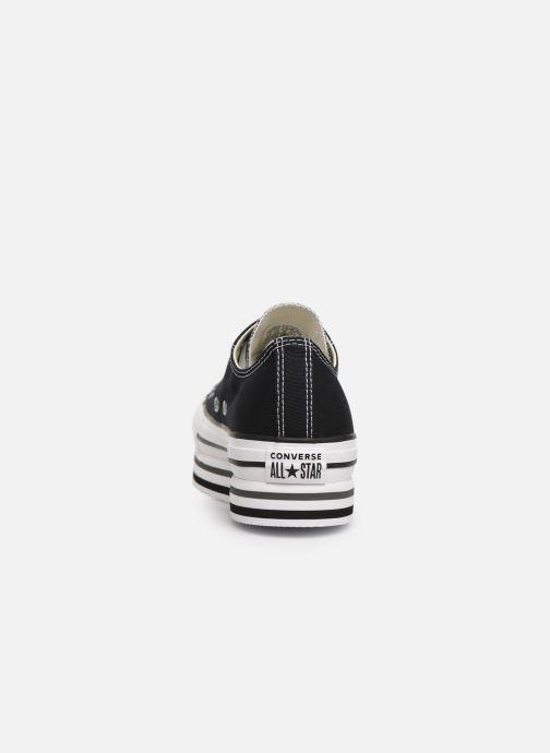 Sneaker Converse Chuck Taylor All Star Platform Layer EVA Layers Ox schwarz ansicht von rechts