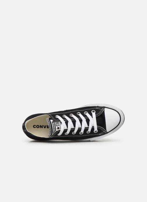 Sneaker Converse Chuck Taylor All Star Platform Layer EVA Layers Ox schwarz ansicht von links