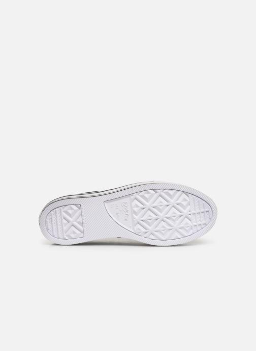 Sneaker Converse Chuck Taylor All Star Platform Layer EVA Layers Ox schwarz ansicht von oben