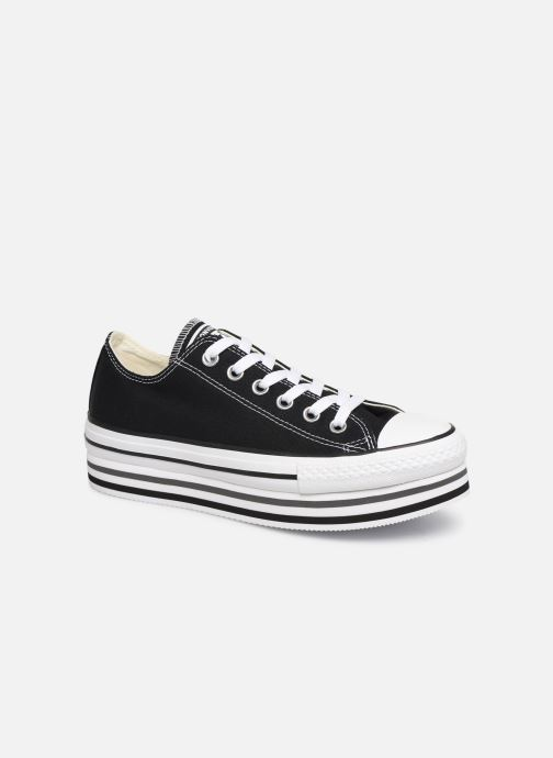 Trainers Converse Chuck Taylor All Star Platform Layer EVA Layers Ox Black detailed view/ Pair view