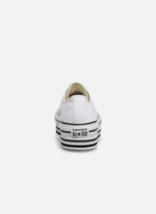 Trainers Converse Chuck Taylor All Star Platform Layer EVA Layers Ox White view from the right