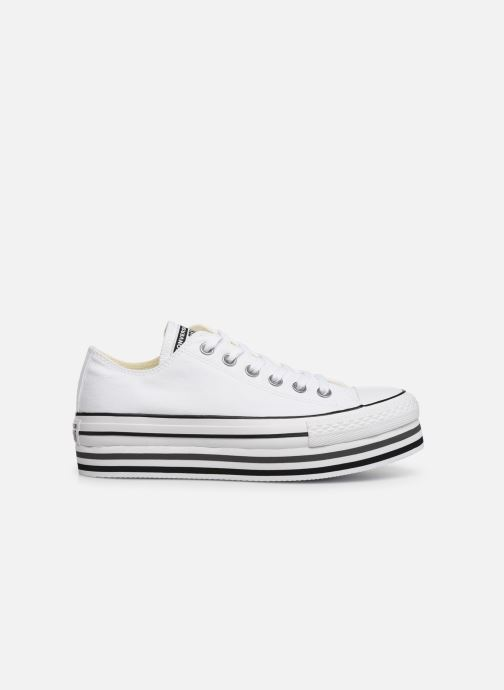 Baskets Converse Chuck Taylor All Star Platform Layer EVA Layers Ox Blanc vue derrière