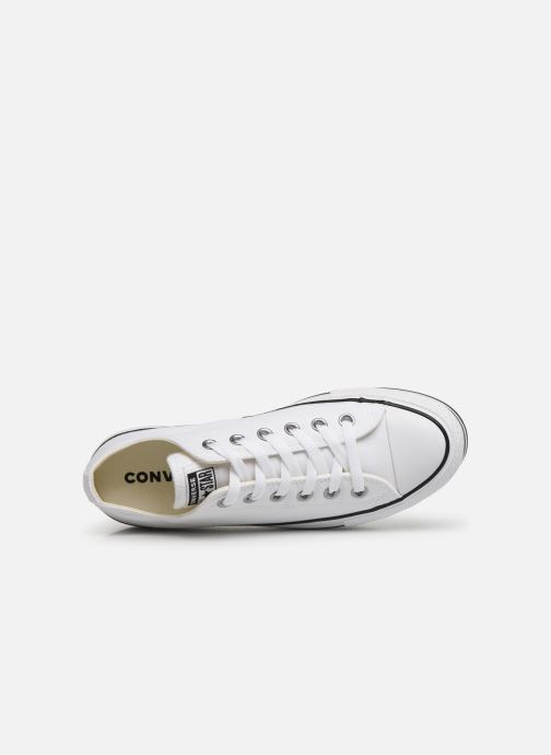 Sneakers Converse Chuck Taylor All Star Platform Layer EVA Layers Ox Bianco immagine sinistra