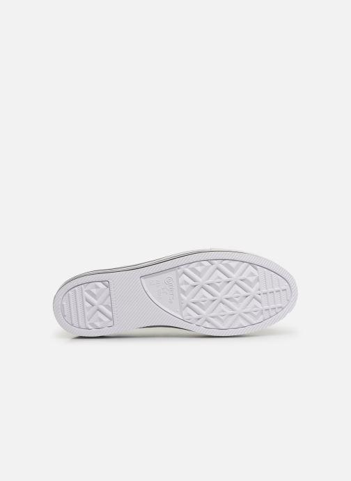Sneakers Converse Chuck Taylor All Star Platform Layer EVA Layers Ox Bianco immagine dall'alto