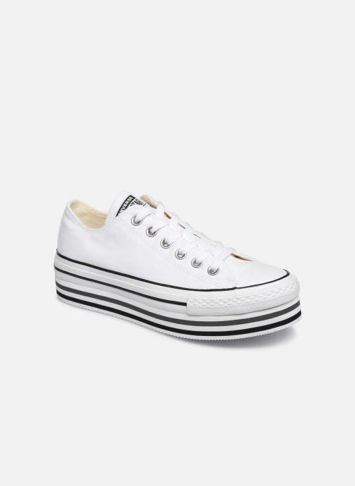 Sneakers Converse Chuck Taylor All Star Platform Layer EVA Layers Ox Bianco vedi dettaglio/paio