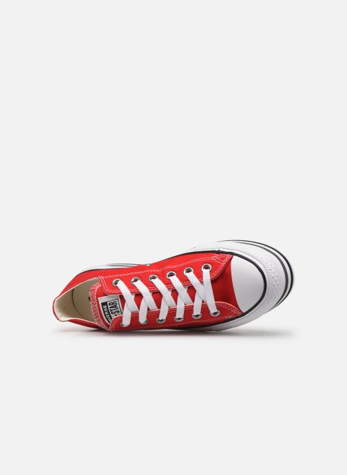 Trainers Converse Chuck Taylor All Star Platform Layer EVA Layers Ox Red view from the left