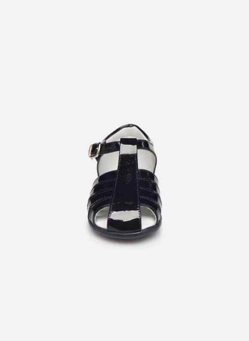 Sandales et nu-pieds Cendry Jeanne Bleu vue portées chaussures
