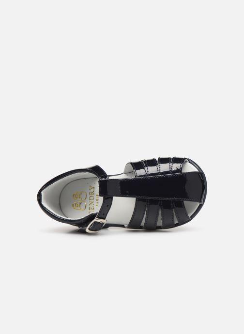 Sandales et nu-pieds Cendry Jeanne Bleu vue gauche