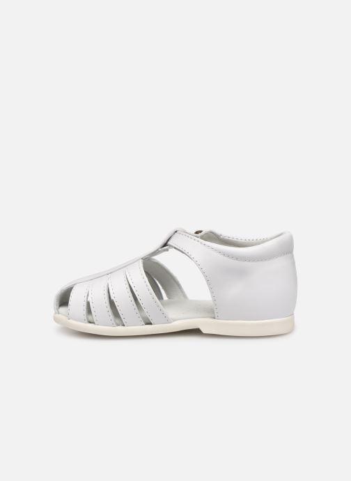 Sandales et nu-pieds Cendry Jeanne Blanc vue face