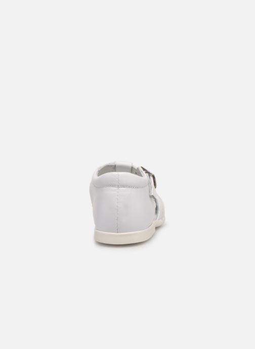 Sandales et nu-pieds Cendry Jeanne Blanc vue droite
