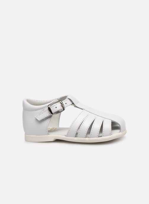 Sandales et nu-pieds Cendry Jeanne Blanc vue derrière